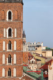 Krakow Cityscape in Poland Royalty Free Stock Image