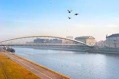 Krakow cityscape Stock Images