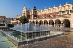 Krakow Cloth Hall Royalty Free Stock Photography