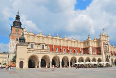 Krakow.  Cloth Hall Royalty Free Stock Photos