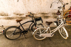 Krakow (Cracow)-bike rental Stock Images