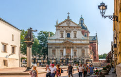 Krakow (Cracow)-Church of St Peter and St Paul Royalty Free Stock Image