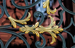 Krakow (Cracow)- Poland-decorative bars window Royalty Free Stock Photography