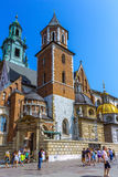 Krakow (Cracow)- Poland- Wawel Cathedral Stock Photo