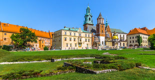 Krakow (Cracow)- Poland- Wawel Hill Stock Image