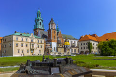 Krakow (Cracow)- Poland- Wawel Hill Royalty Free Stock Photography