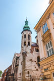 Krakow (Cracow)-romanesque St. Andrew s Church Royalty Free Stock Images