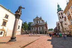 Krakow (Cracow)-St Mary Magdalene Square Stock Photography