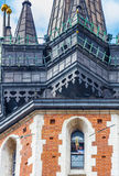 Krakow (Cracow)-St Mary s Trumpet Call Royalty Free Stock Photo