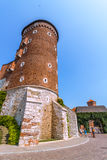Krakow (Cracow)-Wawel Hill-Sandomierska Tower Royalty Free Stock Images
