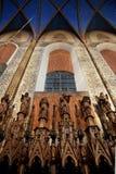Krakow - Dominican Church - Poland. Interior walls of the Dominican Church in the city of Krakow in Poland Stock Photos