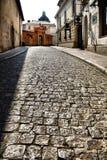krakow gammal poland gata Royaltyfri Fotografi