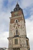 Krakow gothic town hall tower, Poland. Stock Image