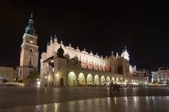 krakow huvudfyrkant Fotografering för Bildbyråer