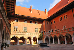 Krakow, Jagiellonian University Stock Image
