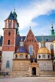 krakow katedralny wawel Obraz Royalty Free