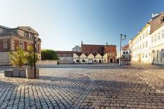 Krakow, Kazimierz District, Historic Jewish architecture. Krakow kazimierz district historic jewish architecture polin building landmark synagogue city town royalty free stock images
