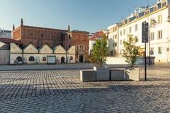 Krakow, Kazimierz District, Historic Jewish architecture. Krakow kazimierz district historic jewish architecture polin  poland europe landmark synagogue stock photos