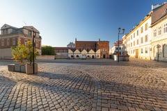 Krakow, Kazimierz District, Historic Jewish architecture. Krakow kazimierz district historic jewish architecture polin building landmark synagogue city town stock image