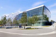 Krakow kongressmitt (internationella konferenser och Entertainm royaltyfri foto