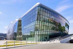 Krakow kongressmitt (internationella konferenser och Entertainm arkivfoto