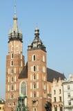 krakow landmark royaltyfri fotografi