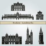 Krakow Landmarks Stock Image