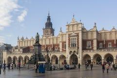 Krakow - Main Market Square Stock Photography