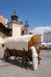 Krakow - main squaer Royalty Free Stock Photography