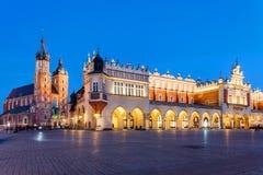 Krakow, Mariacki Church Stock Photography
