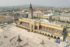 Krakow Market Square Royalty Free Stock Images