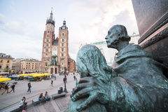 Krakow market square, Poland, Europe Stock Images