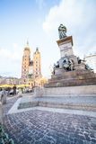 Krakow market square, Poland, Europe Stock Photography