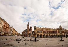 Krakow market square. Stock Photography
