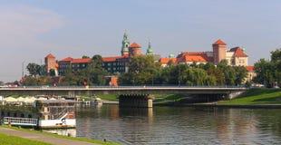 Krakow/medeltida slott poland royaltyfri foto
