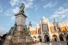 Krakow miasto w Polska obraz stock