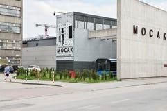 Krakow, MOCAK muzeum obraz royalty free