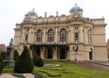 Krakow national teather Royalty Free Stock Photography