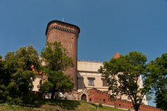 Krakow old city Wawel Castle Stock Photo