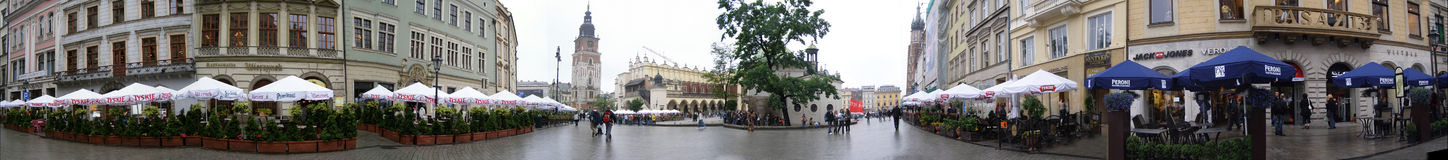 Krakow - an old part of the city Royalty Free Stock Images