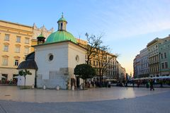 Krakow Old Town Royalty Free Stock Photos