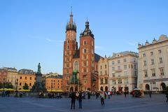 Krakow Old Town, Poland Stock Photography