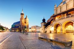 Krakow old town, Poland Royalty Free Stock Image