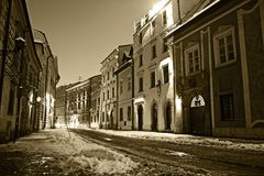 Krakow Old Town Stock Photography