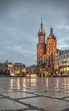 Krakow Old Town Square Stock Photos