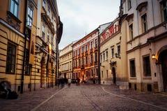 Krakow Old Town Royalty Free Stock Photo