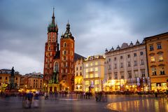 Krakow Old Town Royalty Free Stock Image