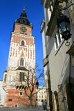 Krakow Old Town tower Stock Images