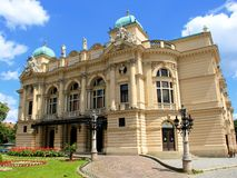 Krakow Opera House Stock Photography