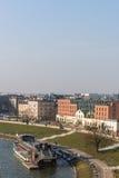 Krakow pejzaż miejski Obrazy Stock